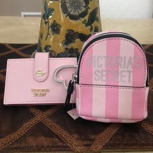 *BUNDLE* VS Backpack Keychain & Card Case